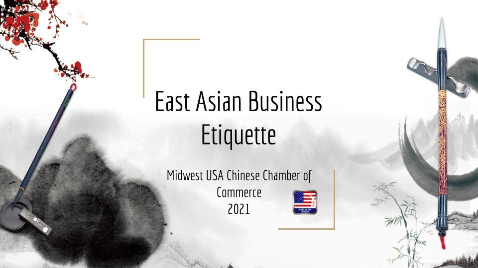 East Asian Business Etiquette